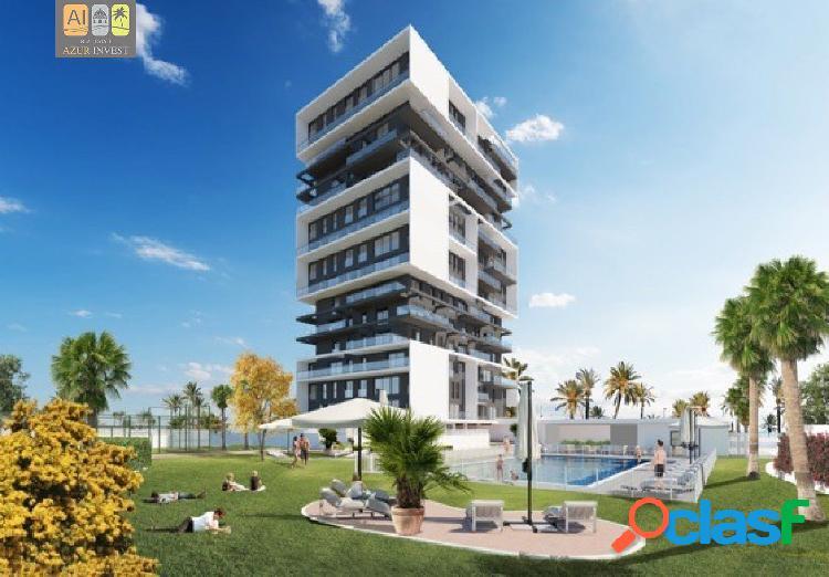 Nueva construcción en calpe! 67 apartamentos de 2 o 3 dormitorios y maravillosos dúplex.