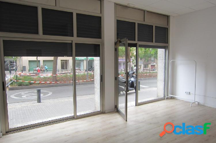 Local comercial en c angel guimerà / dr. turró