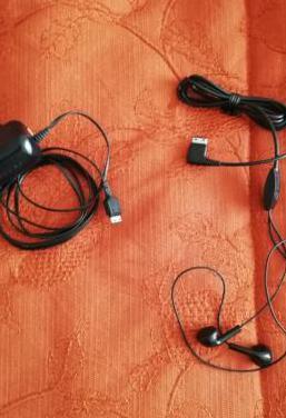 Cargador y auriculares samsung