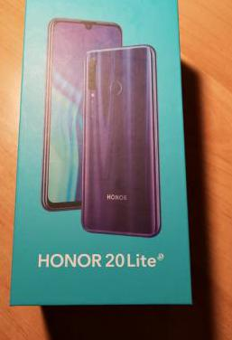 Huawei honor 20 lite blue precintado