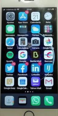 Iphone 6s 64g (blanco)