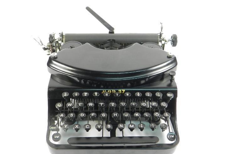 Maquina de escribir adler nº37 año 1940 typewriter