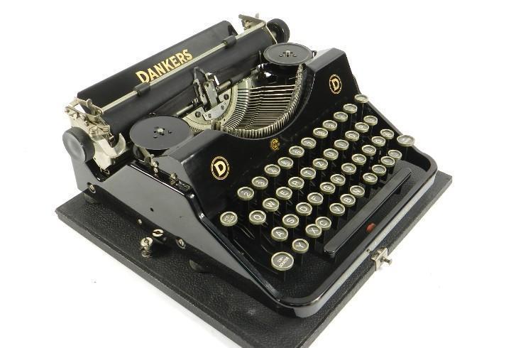 Maquina de escribir dankers vk año 1937 typewriter