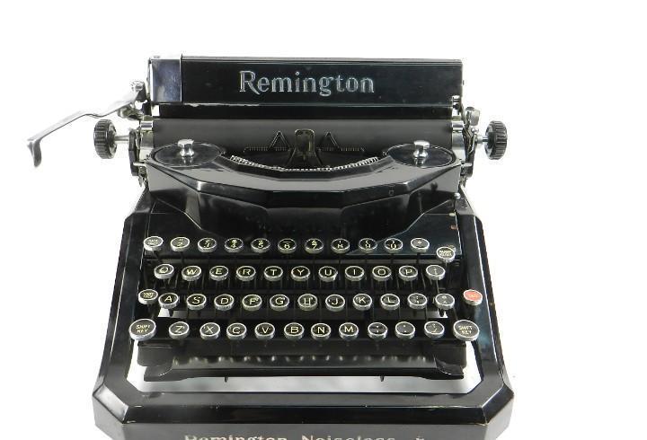 Maquina de escribir remington noiseless nº8 typewriter