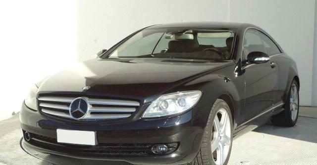 Mercedes-benz clase cl 500 amg sports