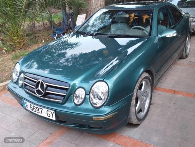 Mercedes clase clk clk 230 kompressor de 2000 con 266.000 km