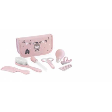 Neceser Aseo Baby Kit Rosa de Miniland