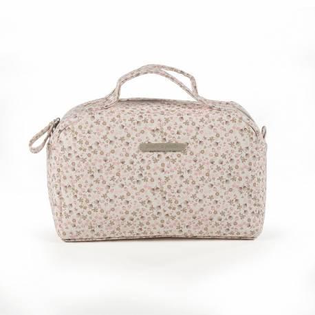 Neceser Vanity Polipiel Bouquet Rosa 474280 de Pasito A