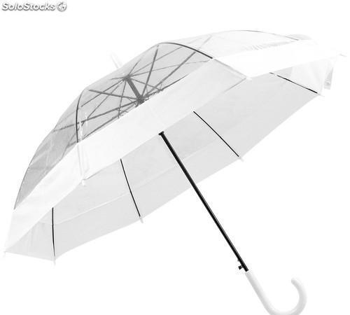 Paraguas transparente y automático