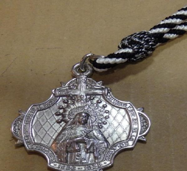 Semana santa sevilla, antigua medalla soledad san