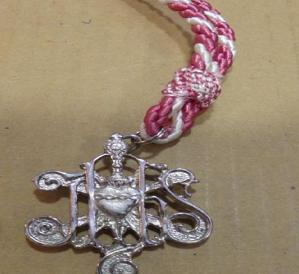 Semana santa sevilla, medalla con cordon hermandad de las