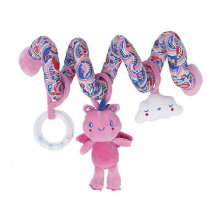 Sonajero espiral enjoy&dream 06712 rosa de tuc tuc