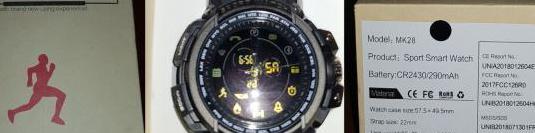 Sports smart watch modelo : mk28