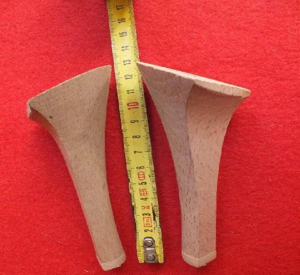 Tacones antiguos madera de haya tacón zapatos zapatero