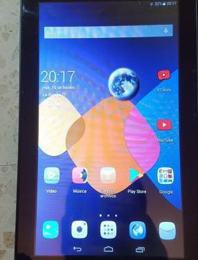 Tablet alcatel one touch 8055