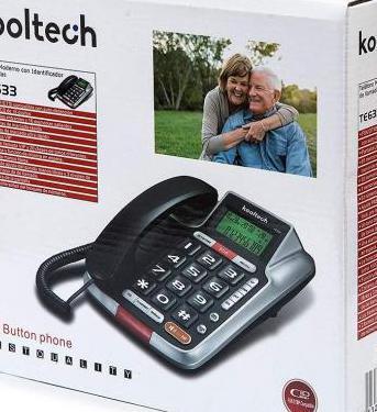 Teléfono fijo kooltech te633
