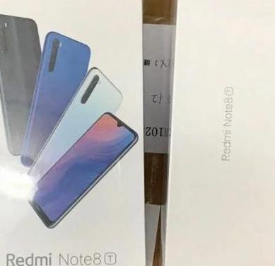 Xiaomi redmi note 8t 4gb ram, 64gb nuevo