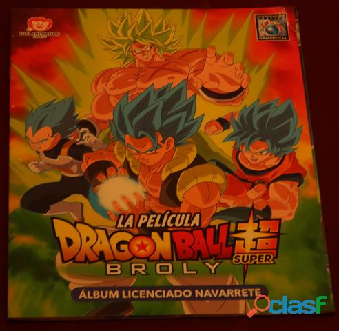 Album dragon ball super broly