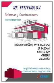 Construcción casas galicia