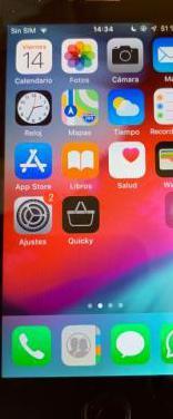 Iphone 5s cristal templado funda