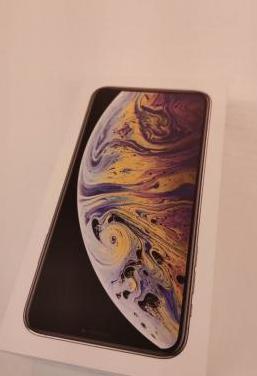 Iphone xs max 64 gb plata