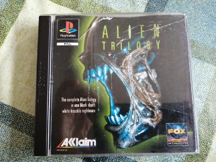 Alien trilogy pal españa completo ps1 psx
