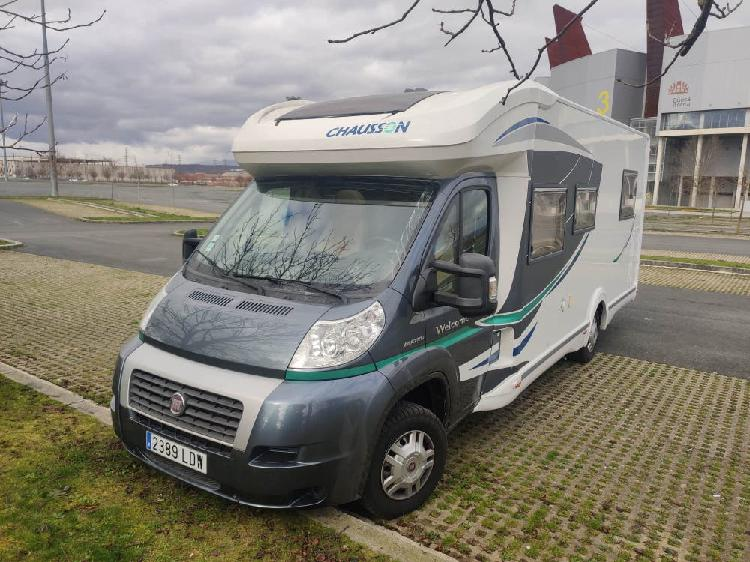 Autocaravana chausson welcome 79eb titanium 2012