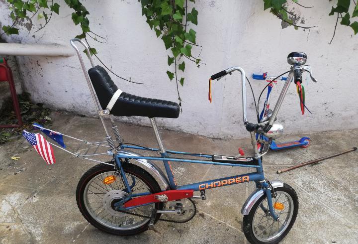 Bicicleta chopped con marcha.. estado mirar fotos....