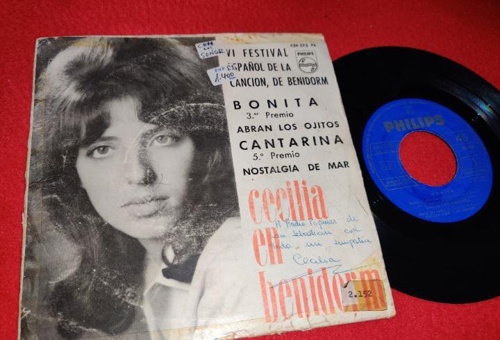 Cecilia con los sonor bonita/abran los ojitos/cantarina +1