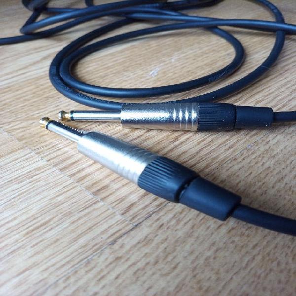 Cable guitarra 6m alta calidad
