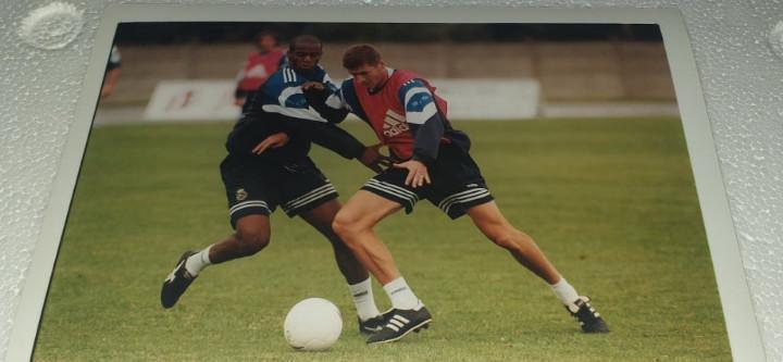 Deportivo la coruña fotografia campeon temporada 1999 -