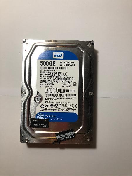 Disco duro western digital 500 gb