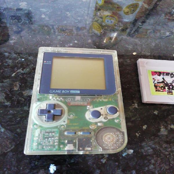 Game boy pocket transparente año 1997