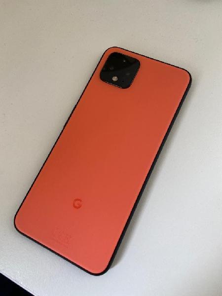 Google pixel 4 como nuevo ed. limitada naranja