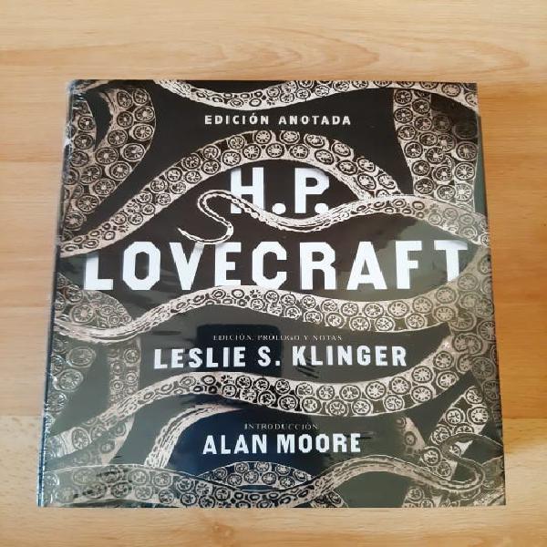H.p. lovecraft edición anotada de akal precintado