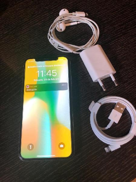 Iphone x 64gb silver !!