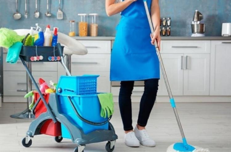 Limpieza o cuidadora de niños