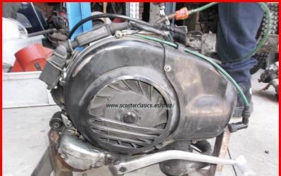 Motor de vespa tx 200 con arranque