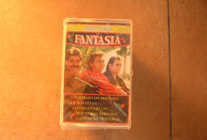Navidad con fantasia -- galaxia 1993 - cassette -pr