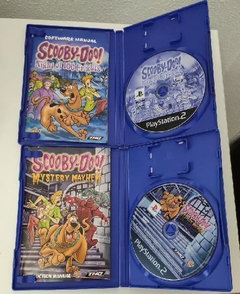 Pack juegos ps2 scooby-doo / 10€ los dos