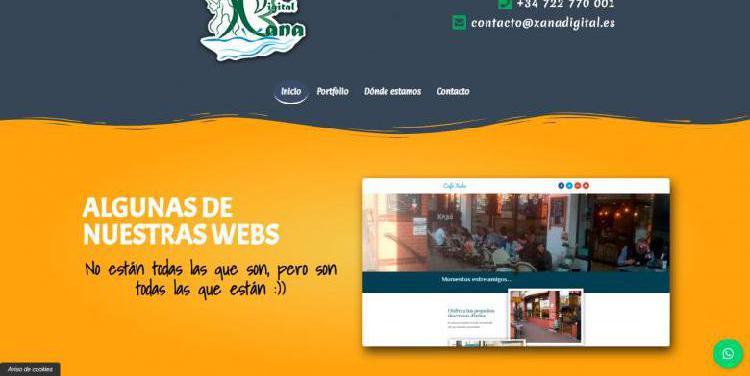 Paginas web baratas y modulares