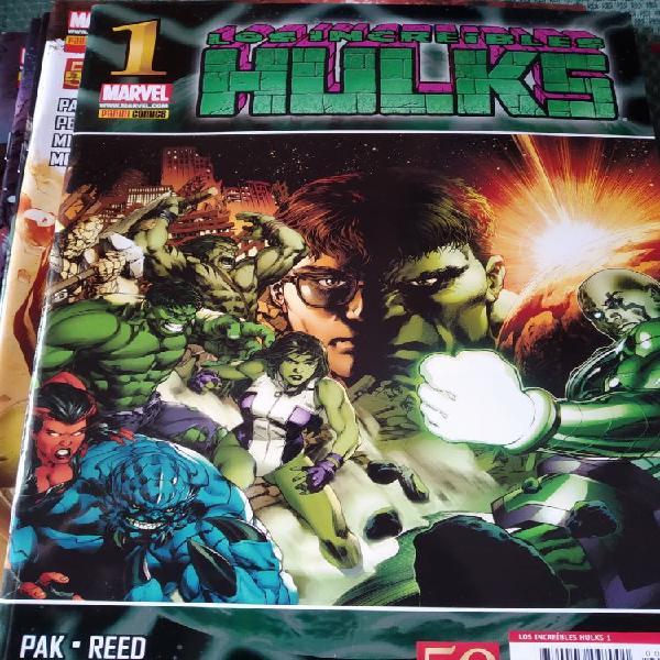 Pack 8 especiales los increíbles hulks (1-6,10,11)