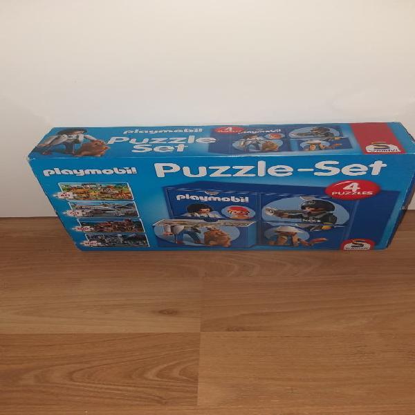 Playmobil set 4 puzzles