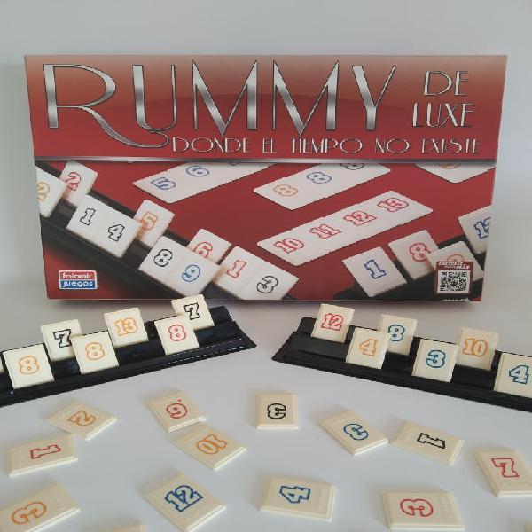 Rummy juego educativo de mesa