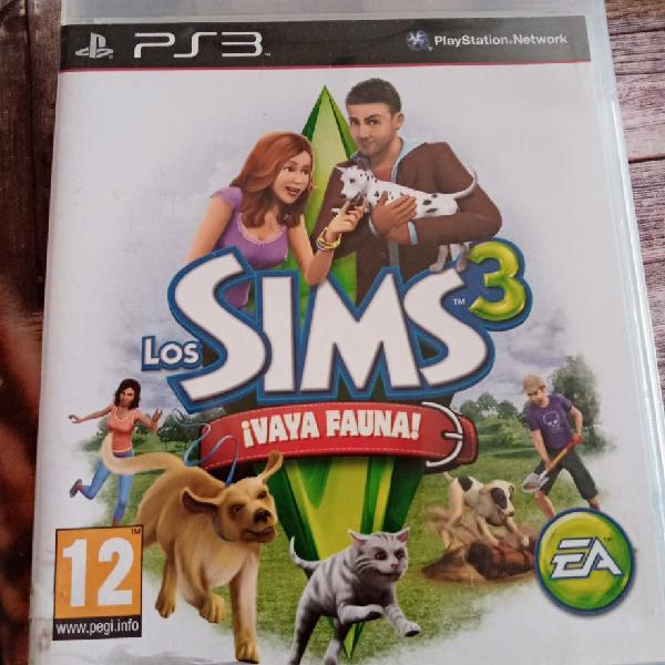 Sims 3, vaya fauna para ps3