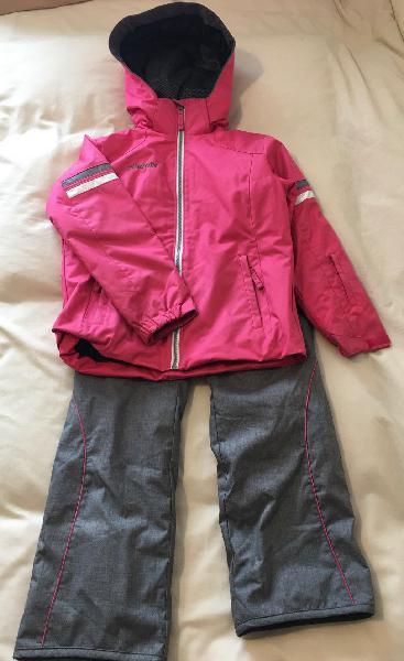 Traje extensible de ski niña phenix talla 6-10
