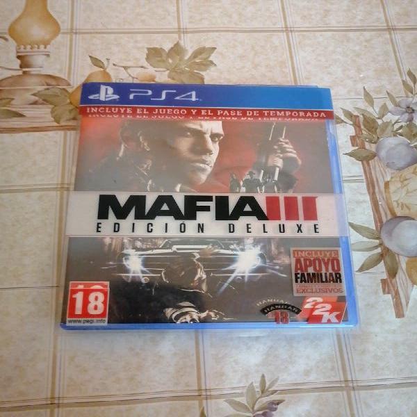 Vendo destiny, mafia 3 edicion deluxe, mando rojo