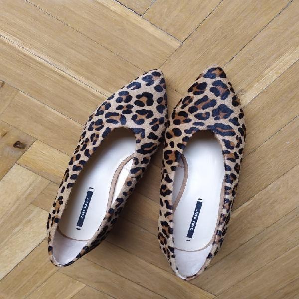 Zapatos piel tipo potro 36/ 37
