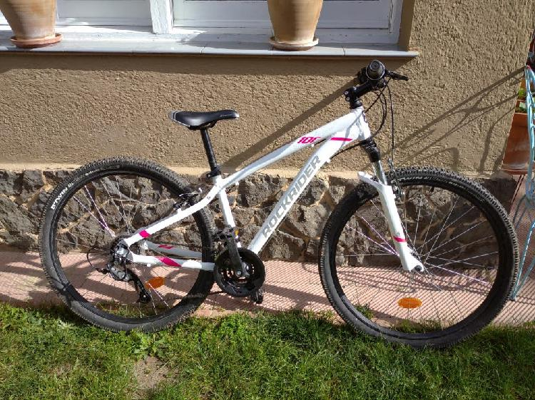 Bicicleta rockrider st 100 suspension