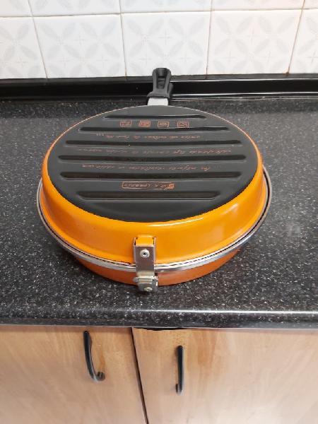 Doble sarten para tortilla